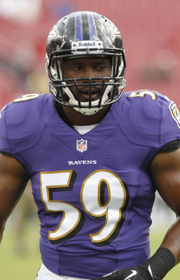 Arthur Brown is filling big shoes for the Baltimore Ravens.