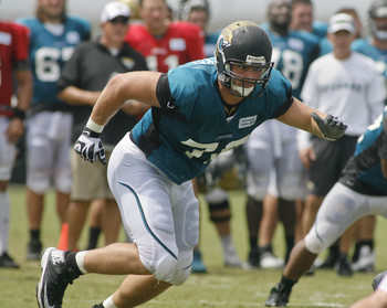 Luke Joeckel is currently battling an injury.