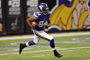 Cordarrelle Patterson is making an immediate impression for the Vikings.