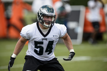 Jake Knott has been a pleasant surprise for the Eagles.