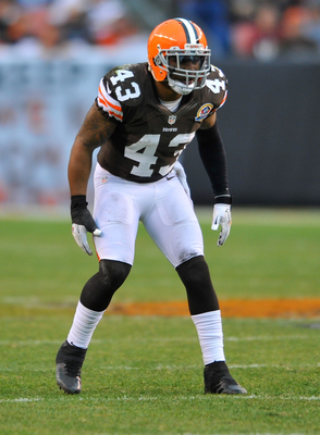 Cleveland safety T.J. Ward