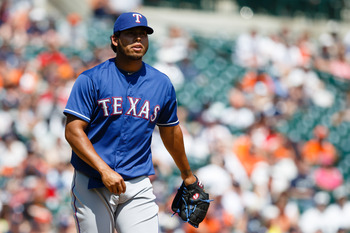Wilmer Font has arguably been the best reliever in the Rangers' minor league system this year.