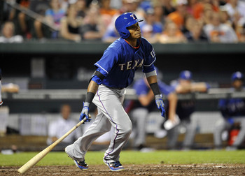 Outfielder Engel Beltre is another virtual lock to be recalled to the Rangers in September.