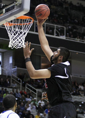 "As if the Aggies didn't have enough of an advantage in the WAC, they've got a 7'5"" guy on their team, Sim Bhullar."