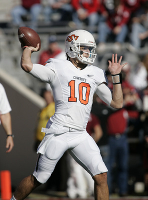 Oklahoma State senior quarterback Clint Chelf.