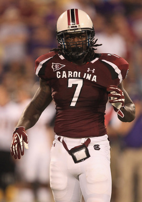 South Carolina junior defensive end Jadeveon Clowney.