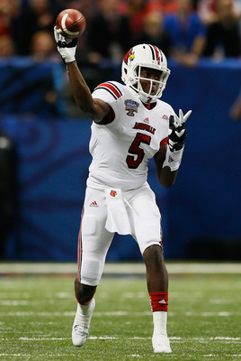 Louisville junior quarterback Teddy Bridgewater in last season's Sugar Bowl.