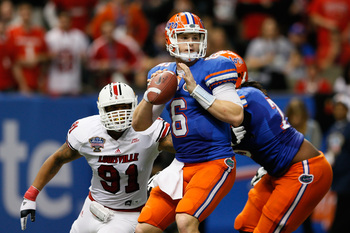 Florida junior quarterback Jeff Driskel in the 2013 Sugar Bowl.