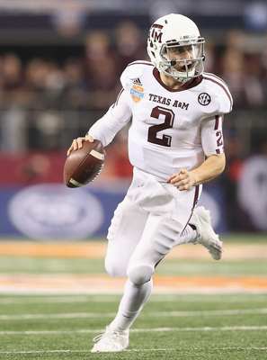Texas A&M sophomore quarterback Johnny Manziel in the 2013 Cotton Bowl.