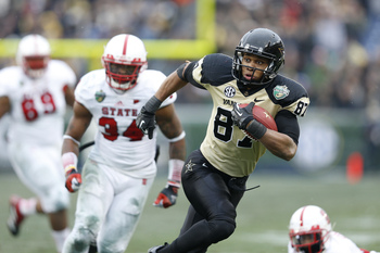Vanderbilt senior wide receiver Jordan Matthews in last year's Music City Bowl.
