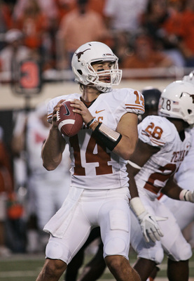 Texas junior quarterback David Ash.