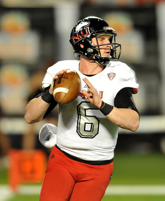 Northern Illinois senior quarterback Jordan Lynch in the 2013 Orange Bowl.