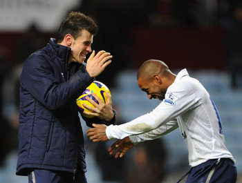 Gareth Bale and Jermain Defoe.
