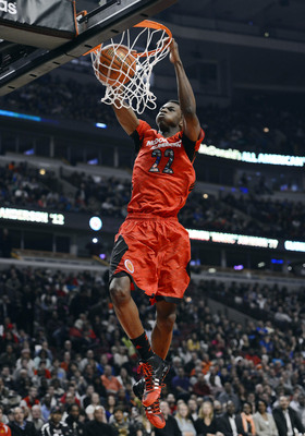 Andrew Wiggins dunks during the McDonald's All-American game.