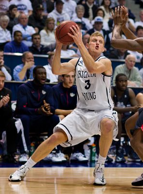 BYU wing Tyler Haws ranked seventh in the NCAA in scoring average last season.