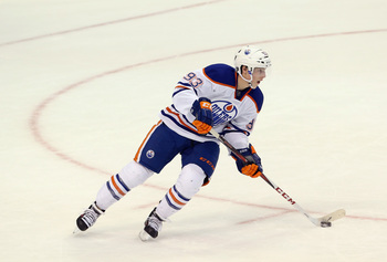 Ryan Nugent-Hopkins will need a new contract at the end of the season, and the Oilers are right up against the current cap.
