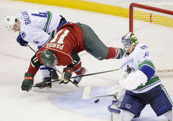 Keith Ballard, now a member of the Wild, hopes to rebound from disappointing years in Vancouver.
