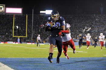 Payton scoring against Arizona.