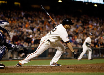 Juan Perez gave the Giants an initial spark in June.