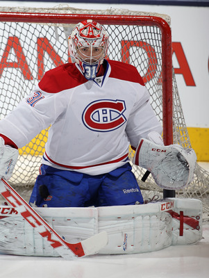 Carey Price has a pretty butterfly style.