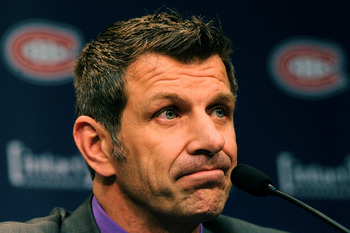 Montreal Canadiens general manager Marc Bergevin.