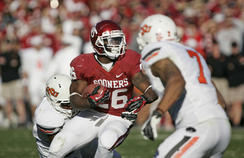 Oklahoma senior running back Damien Williams.