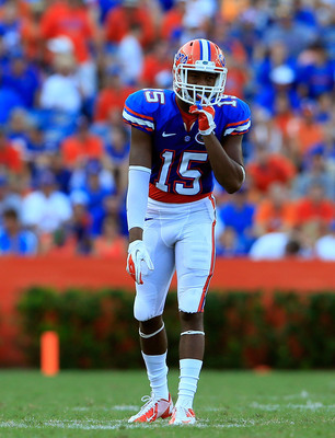 Florida junior wide receiver/cornerback Loucheiz Purifoy.