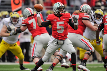 Ohio State junior quarterback Braxton Miller against Michigan last season.