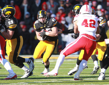 Weisman will be looking to bowl over Big Ten defensive fronts this season, just like 2012