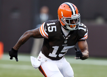 New Browns wide receiver Davone Bess