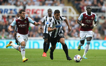 Hatem Ben Arfa is one of Newcastle's key playmakers