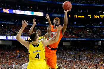 Baltimore native C.J. Fair helped lead Syracuse to the Final Four in 2013.