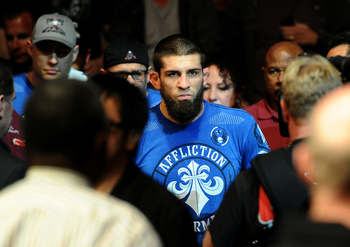 Court McGee is fighting for the second time in the UFC welterweight division.