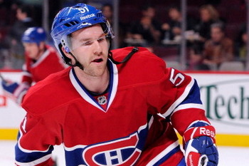Can David Desharnais center Montreal's top line?