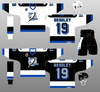 The first uniform in Lightning history was a classic.