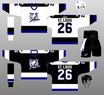 Lightning fans can reminisce with these beauties. These sweaters brought the only Stanley Cup to Tampa Bay.