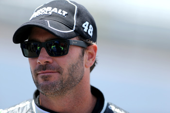 Jimmie Johnson hasn't won a race since early July.
