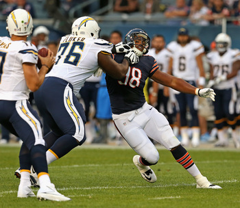 D.J. Fluker (76) could develop into a good pass blocker as well as dominating run blocker.