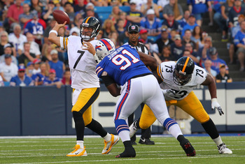 Foster might be the most stable part of Pittsburgh's patchwork offensive line.