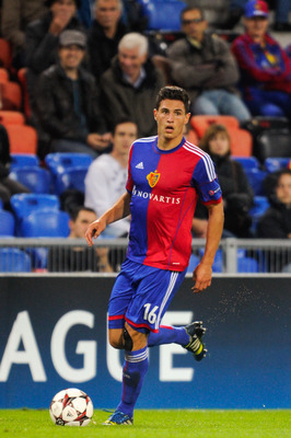 Young defender Fabian Schar is a player to keep an eye on for Basel.
