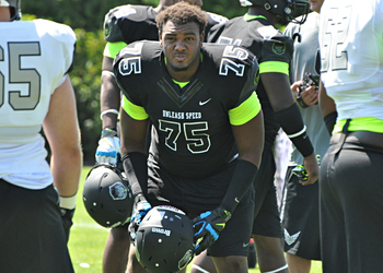 Virginia commit Andrew Brown is among the top defensive tackles in the nation. (247Sports)