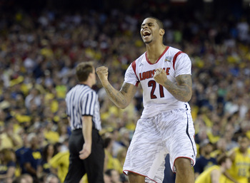 Chane Behanan's strength was too much for Michigan to handle in the national title game, a performance he'll look to build off in 2013-14.