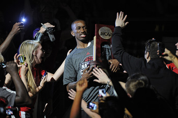 Russ Smith decided to return to school for his senior season after considering a jump to the NBA.