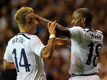 Holtby and Defoe.