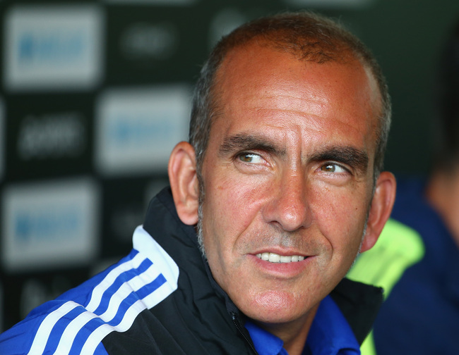 HONG KONG - JULY 23:  Paolo Di Canio coach of Sunderland looks on during a Barclays Asia Trophy press conference at Grand Hyatt on July 23, 2013 in Hong Kong, Hong Kong.  (Photo by Robert Cianflone/Getty Images for FA Premier League)