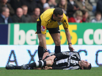 Joey Barton and Newcastle experienced relegation in 2009.
