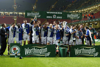 Blackburn won the League Cup in 2002 after being promoted to the EPL.