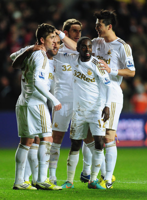 Swansea City were promoted in 2011 and have retained their status with solid play.