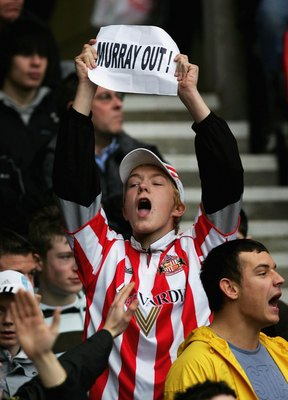 Sunderland fans showed their feelings as the Black Cats struggled in 2006.