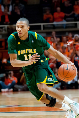 Norfolk State's Pendarvis Williams was the MEAC player of the year last season.